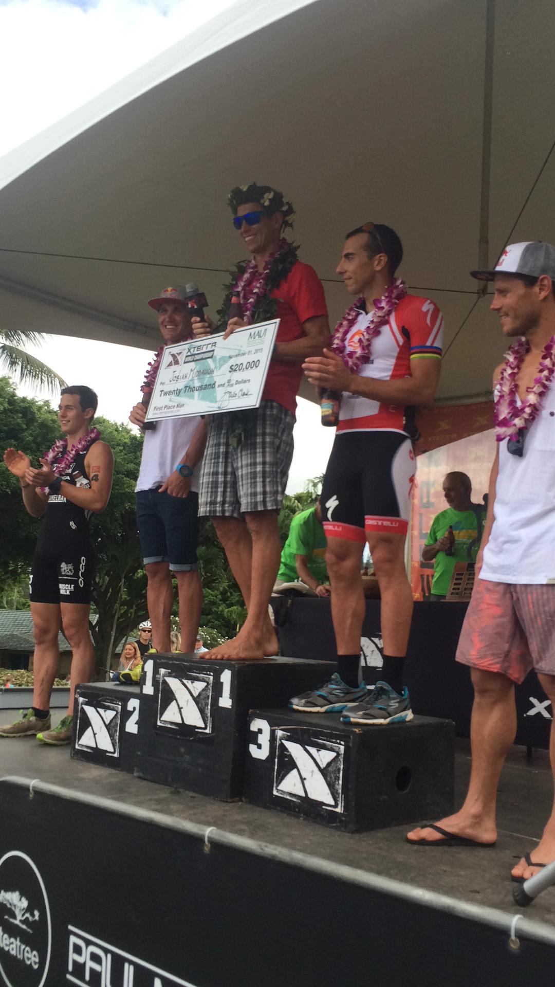 Xterra Race Beaver Creek Podium Maui